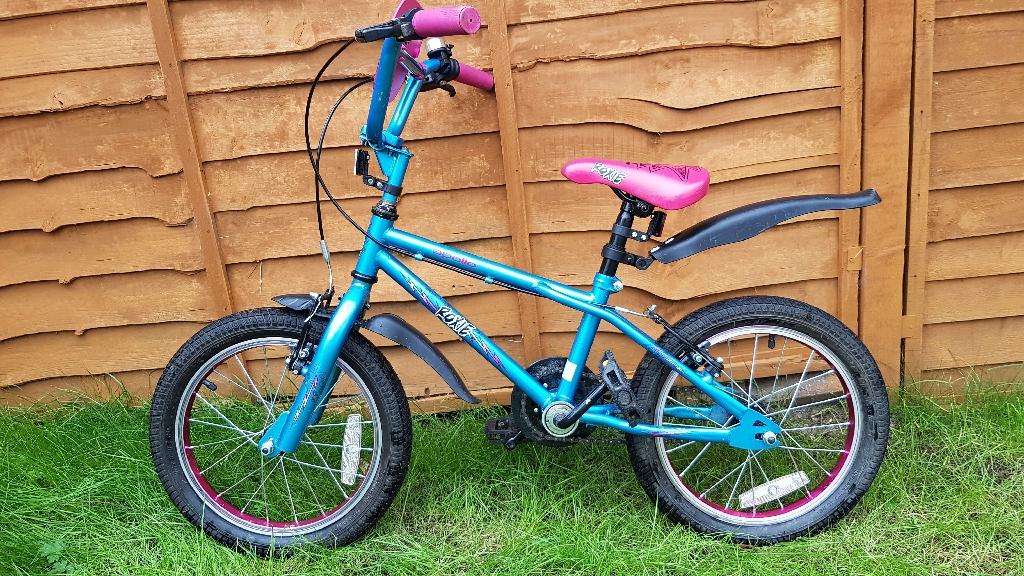 """Apollo Roxie Kids Bike- 16"""" wheel"""