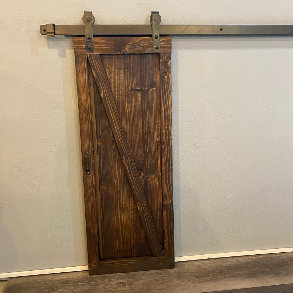 Z Bar Sliding Barn Door