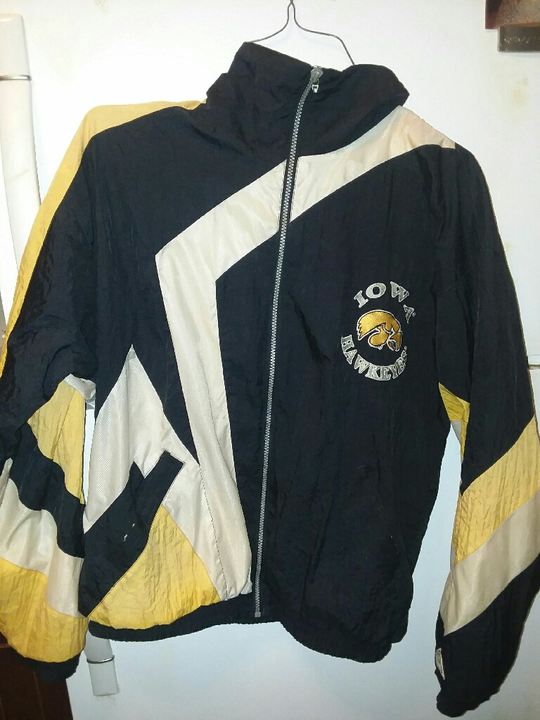 Iowa Hawkeye Raincoat