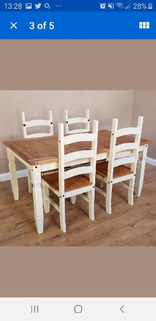 Table& 4 chairs