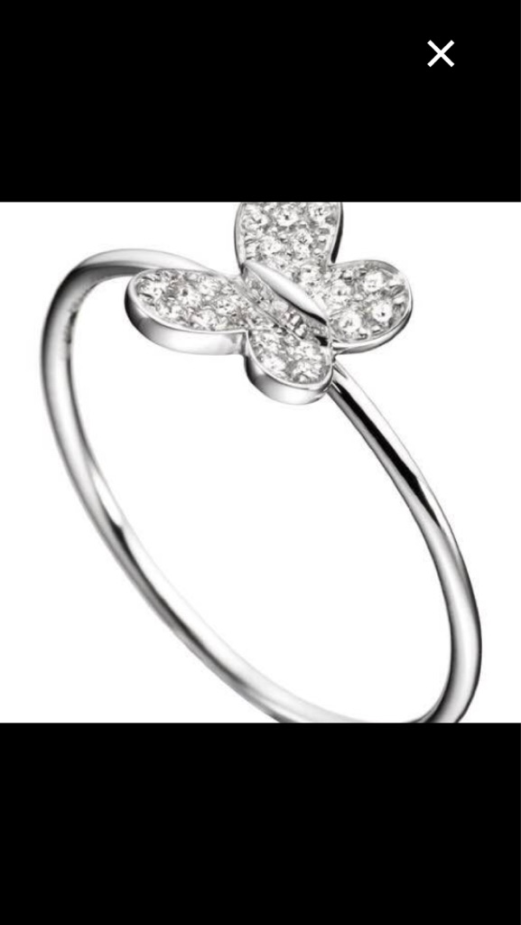 Morganne Bello- Diamond ring.