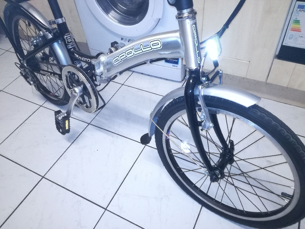 Folding bike Apollo with Bag and instructions