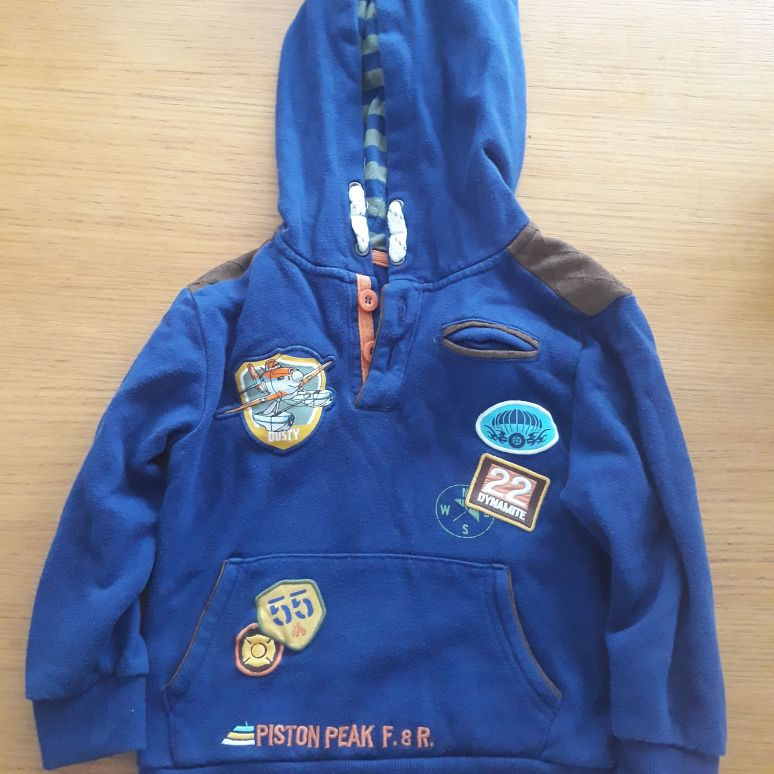 Disney Planes fire and rescue hoodie