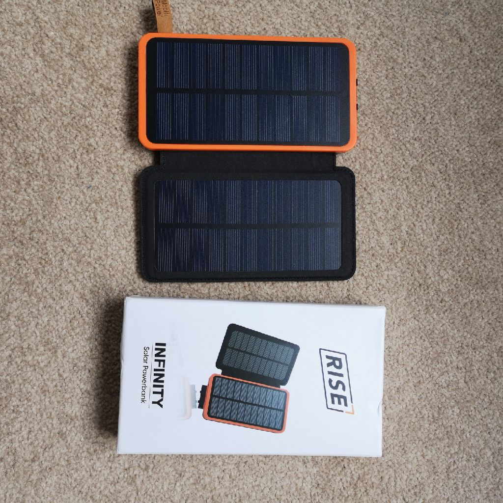 Rise Infinity Solar Power Bank