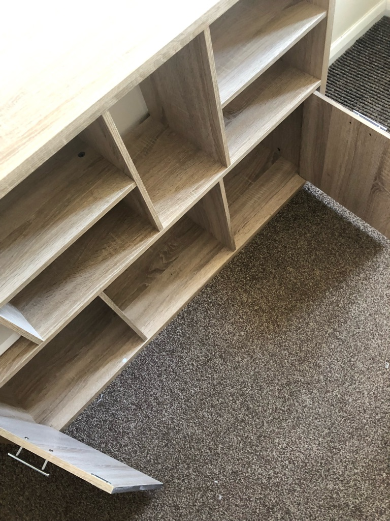 2 x Wooden Cabinet