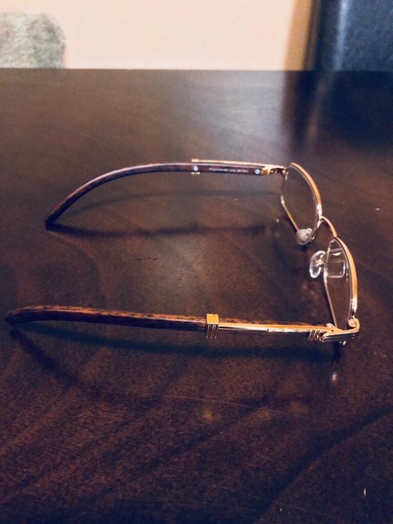 Gold frame vintage glasses