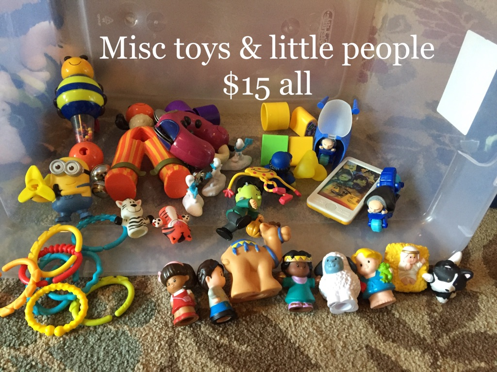 Misc toys