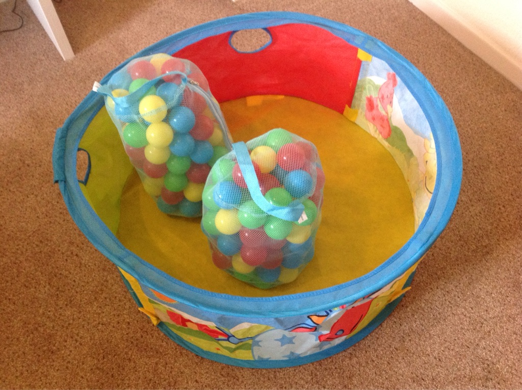 Baby's ball pit.