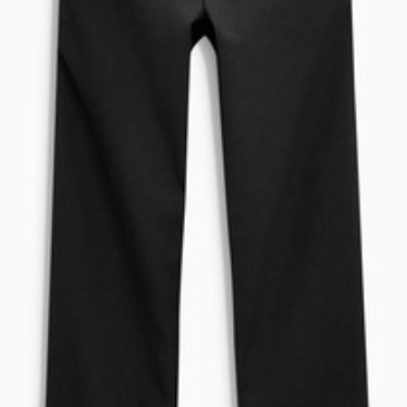 2 x NEXT Black School Trousers Age 11