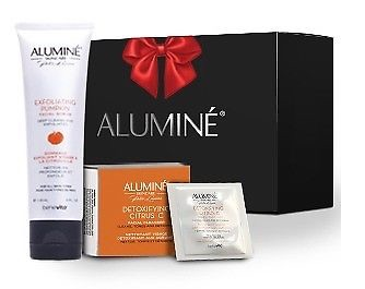 ALUMINE GIFT SET (Exfoliating Pumpkin Facial Scrub + Detoxifying Citrus C Facial cleanser