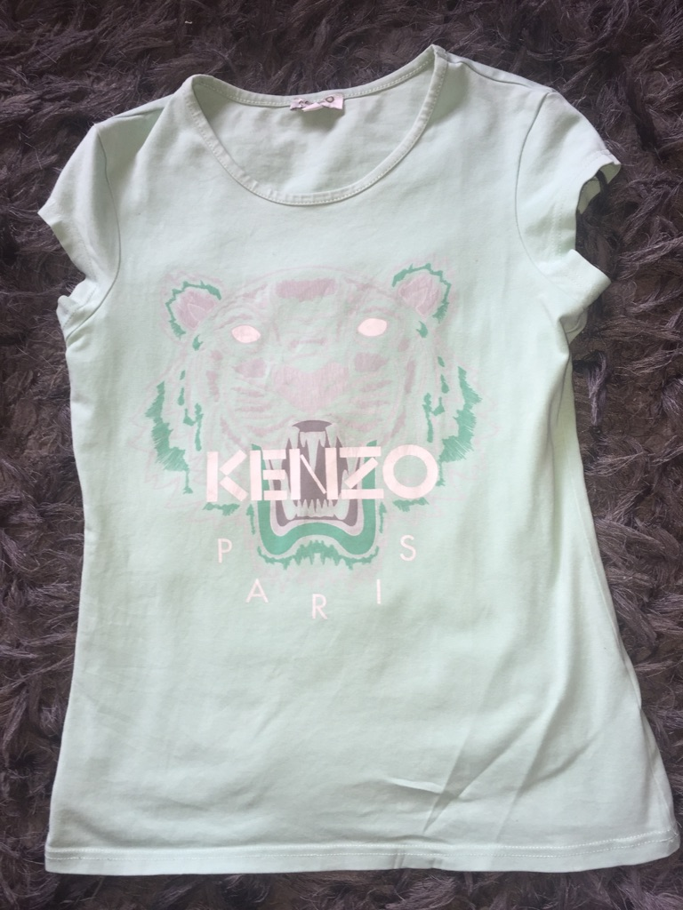 Kenzo jumper and T-shirt's age 12