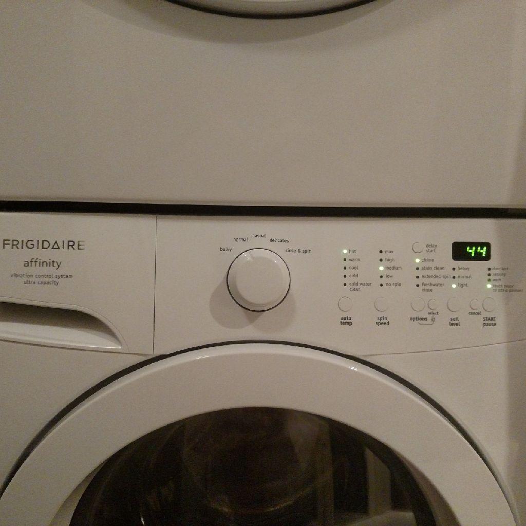 Frigidaire Affinity Washer/Dryer - Dryer Needs Repair