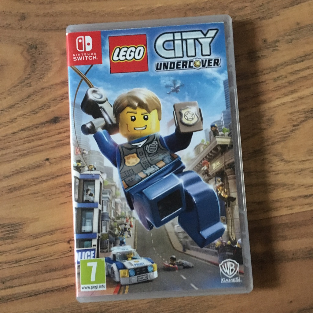 Lego city switch game