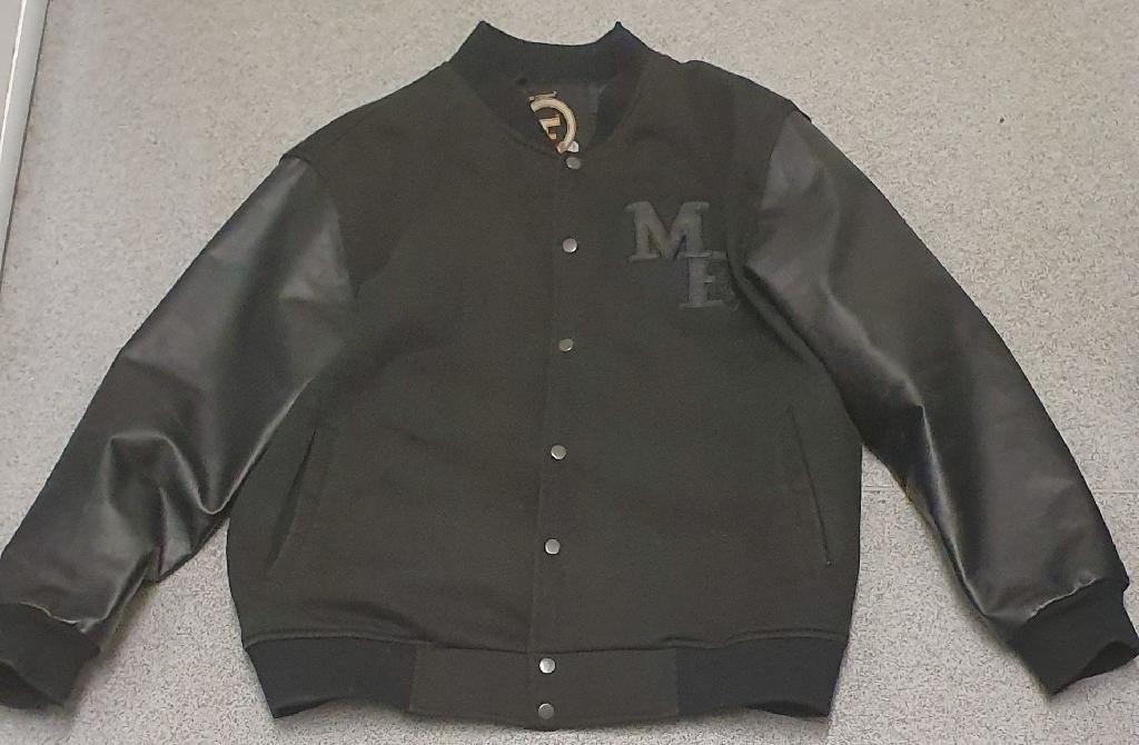 ME black bomber jacket XL