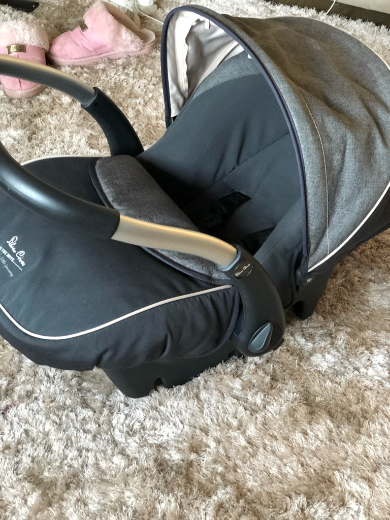 Silver Cross first stage car seat