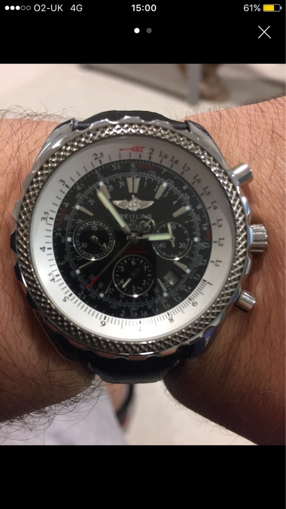 Replica Bentley Moter Breitling Watch