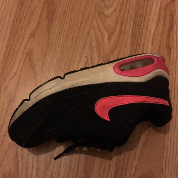 Nike air max black, pink, white
