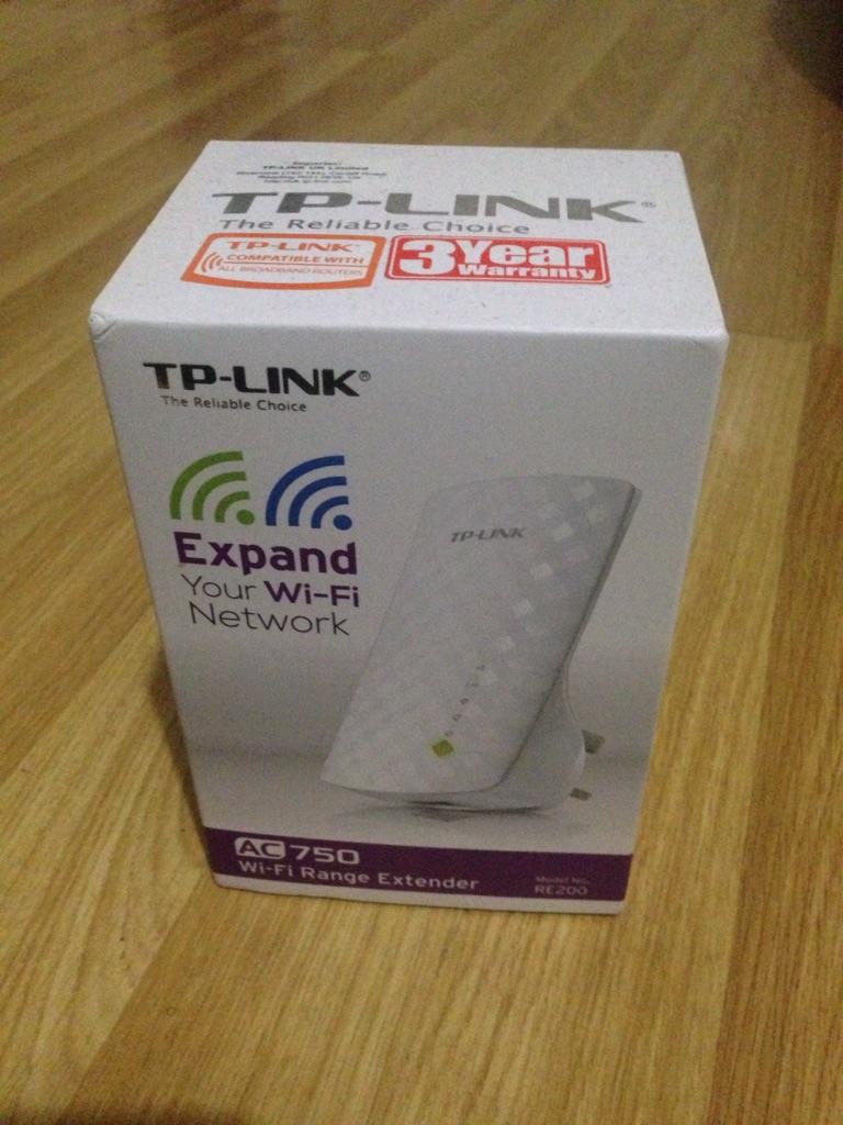 TP-LINK RANGE EXTENDER