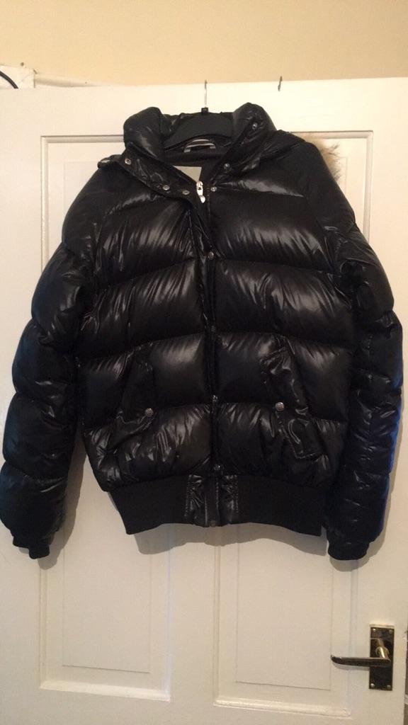 Pyranex black shiny bomber jacket