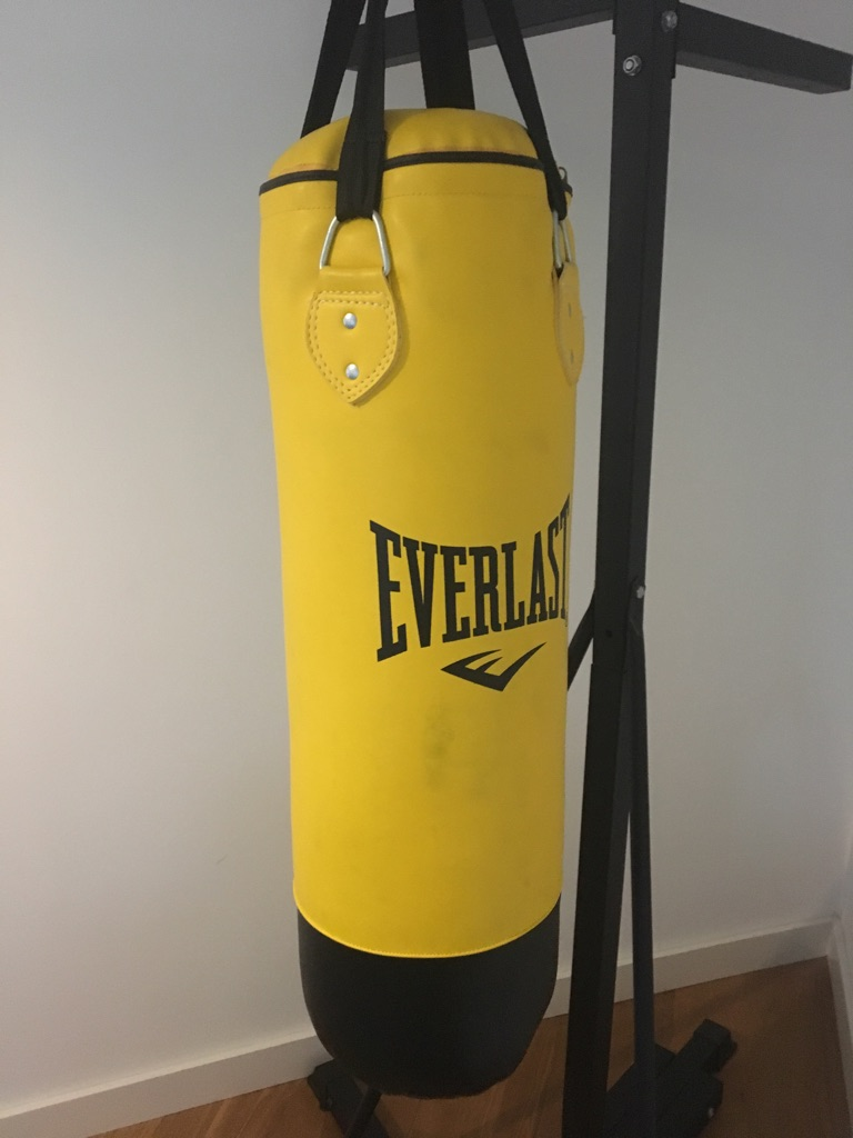Punching Bag & Stand Bundle