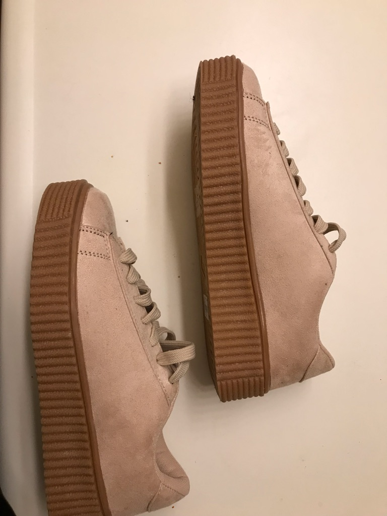 Women's Suede Platform Shoes