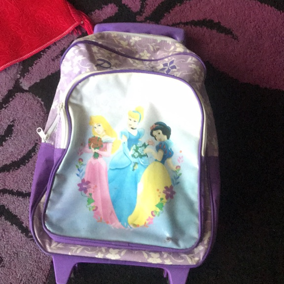 Princess child luggage