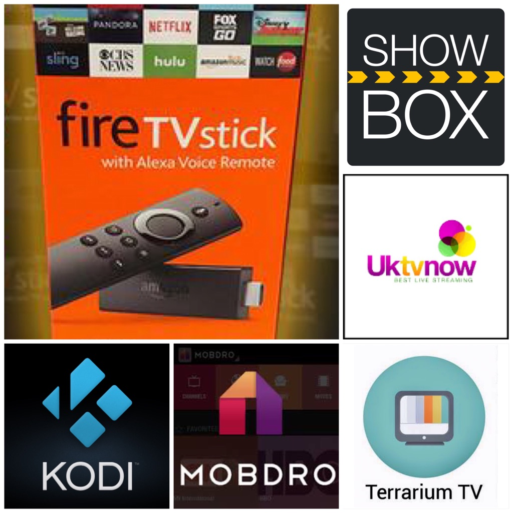 Firesticks Loaded with KODI, MOBDRO, SHOW BOX, TERRARIUM TV, & UK TV NOW For TV, Movies & Much More!