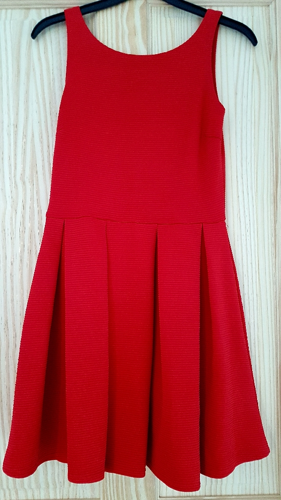 Red Boohoo Dress Size 10