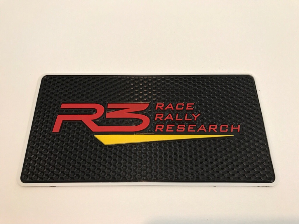Car Non Slip Mats Gift R3 Race Rally Research Sport Turbo Motorsports Performance Tuning