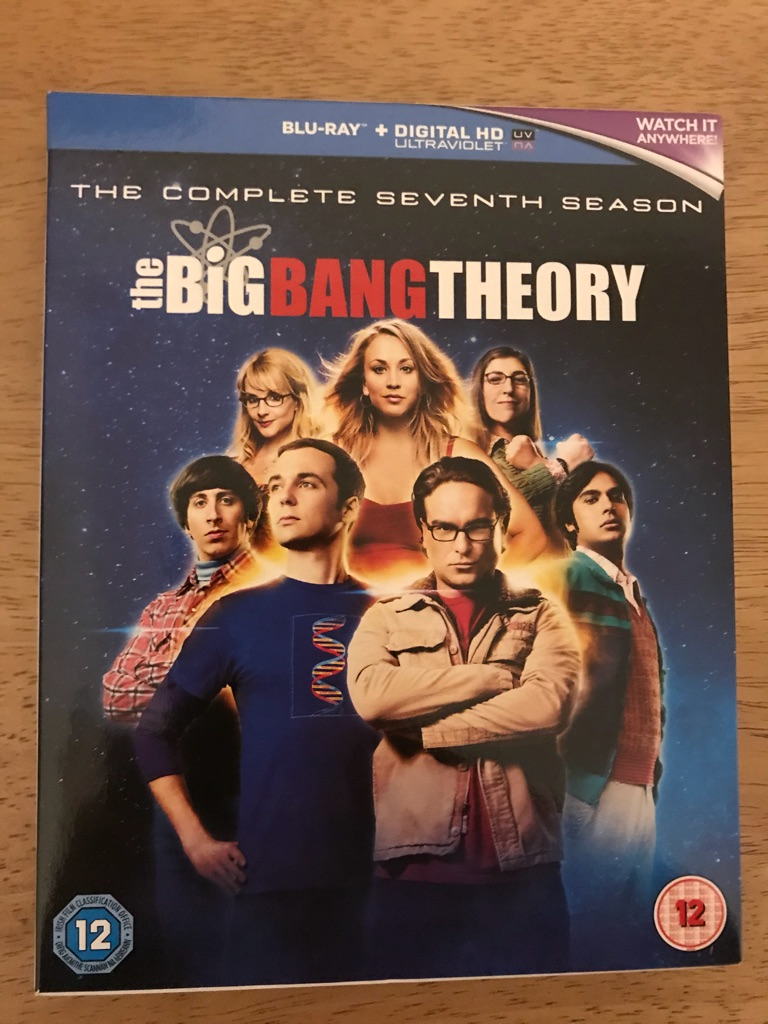 The Big Bang Theory Season 7 blu ray