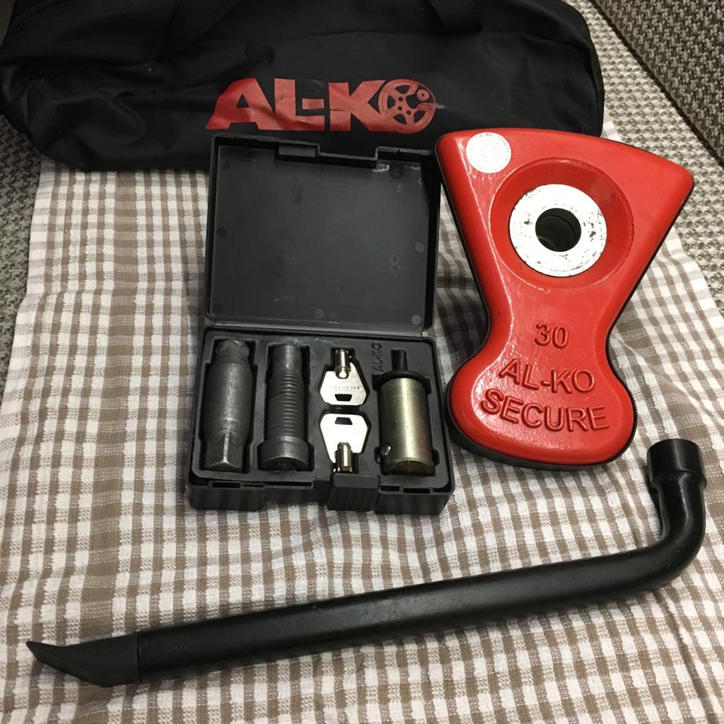 Al-ko wheel lock
