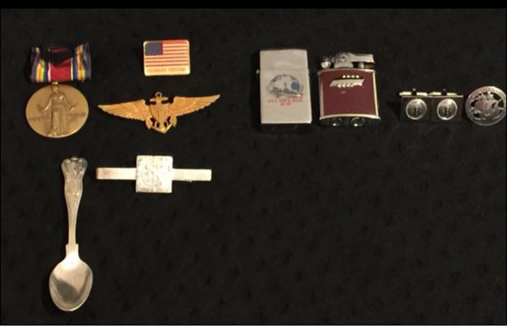 Lot of military memorabilia
