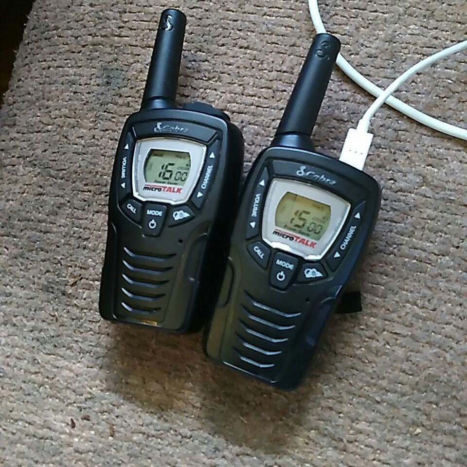 S cobra micro talk two way radios