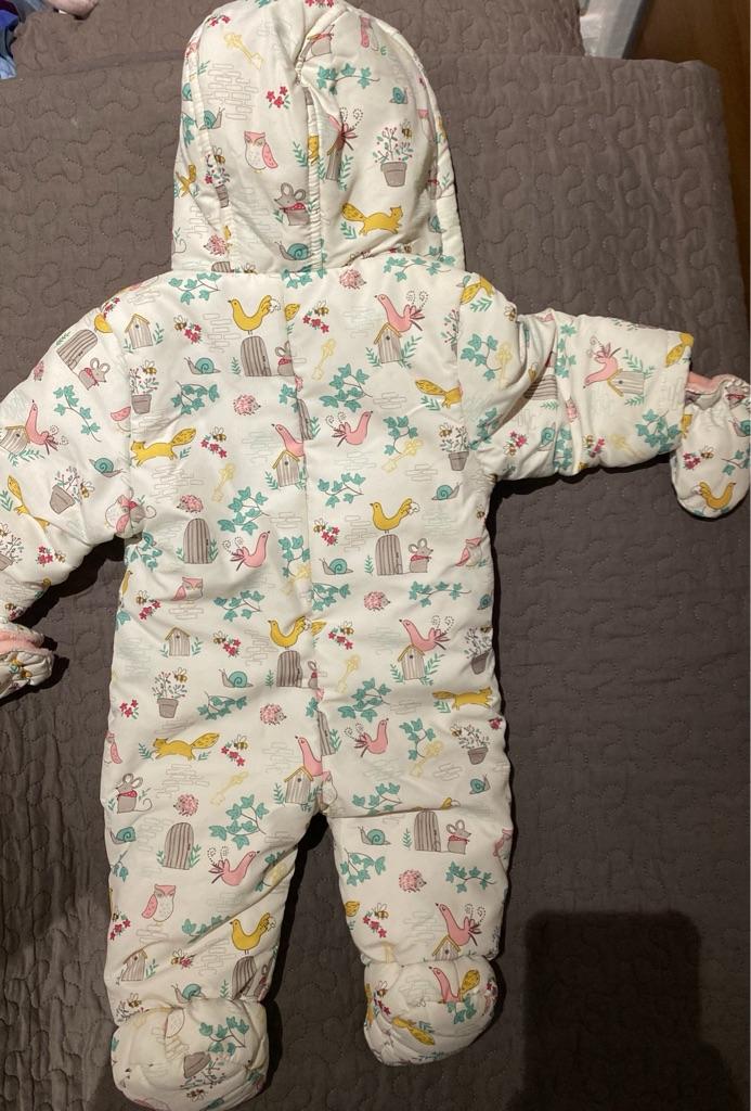 John Lewis snow suit 3-6 month