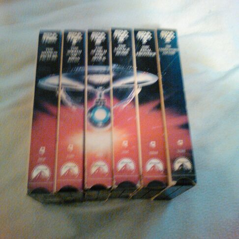 Star Trek movies VHS