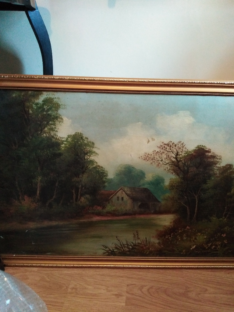 Selection off paintings