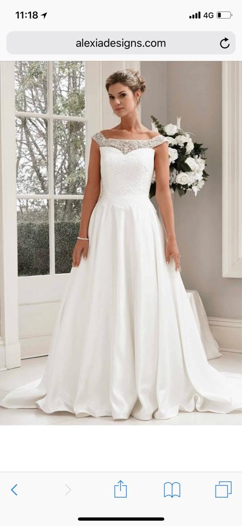 Alexia bridal wedding dress