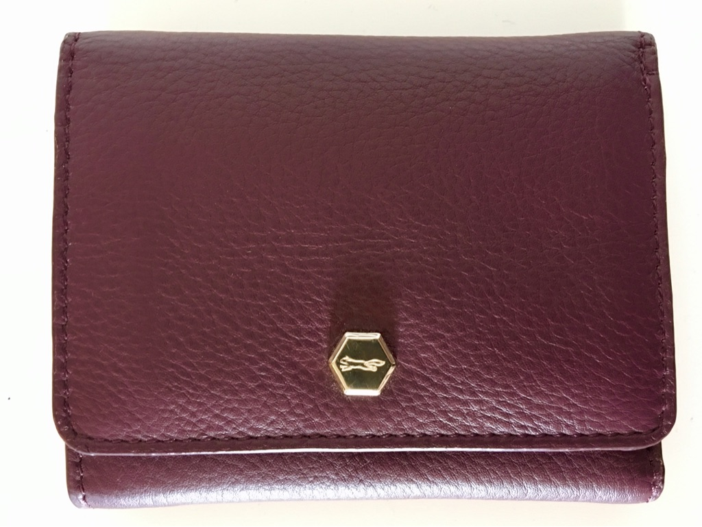 Genuine Paul Costelloe Leather Trifold Wallet