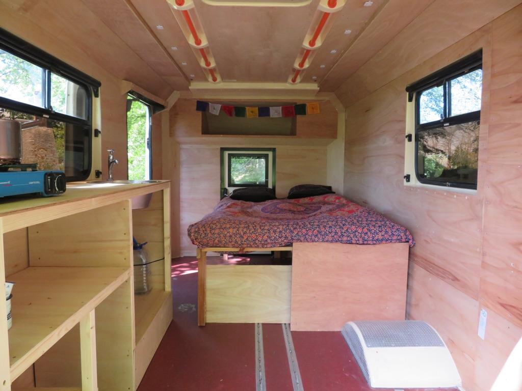 Ford transit camper van conversion