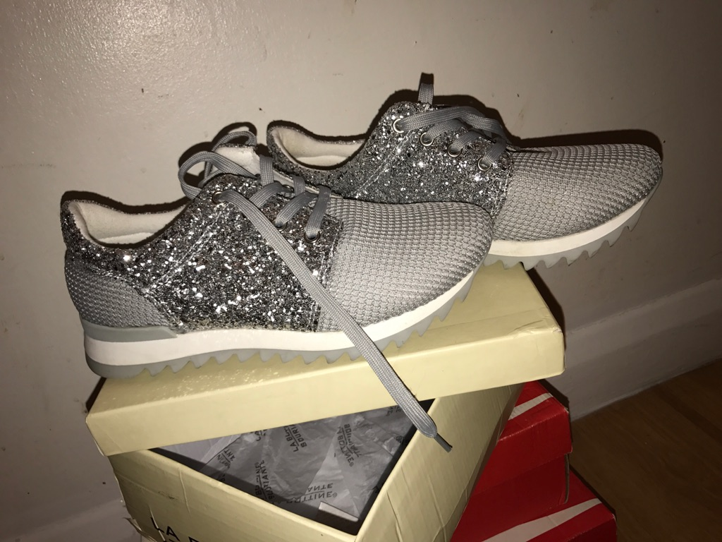 Sparkling trainers