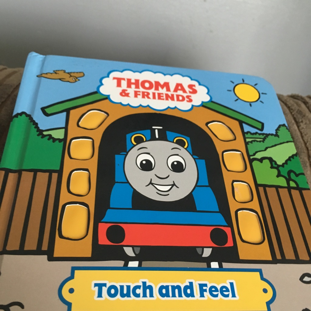 Thomas & friends touch and feel book