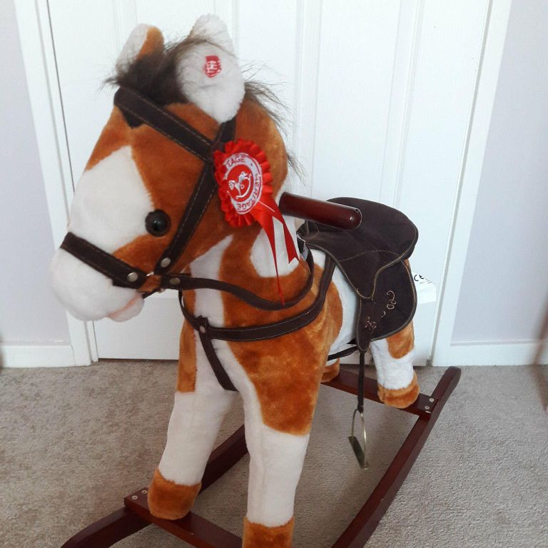 Rocking horse with the sound