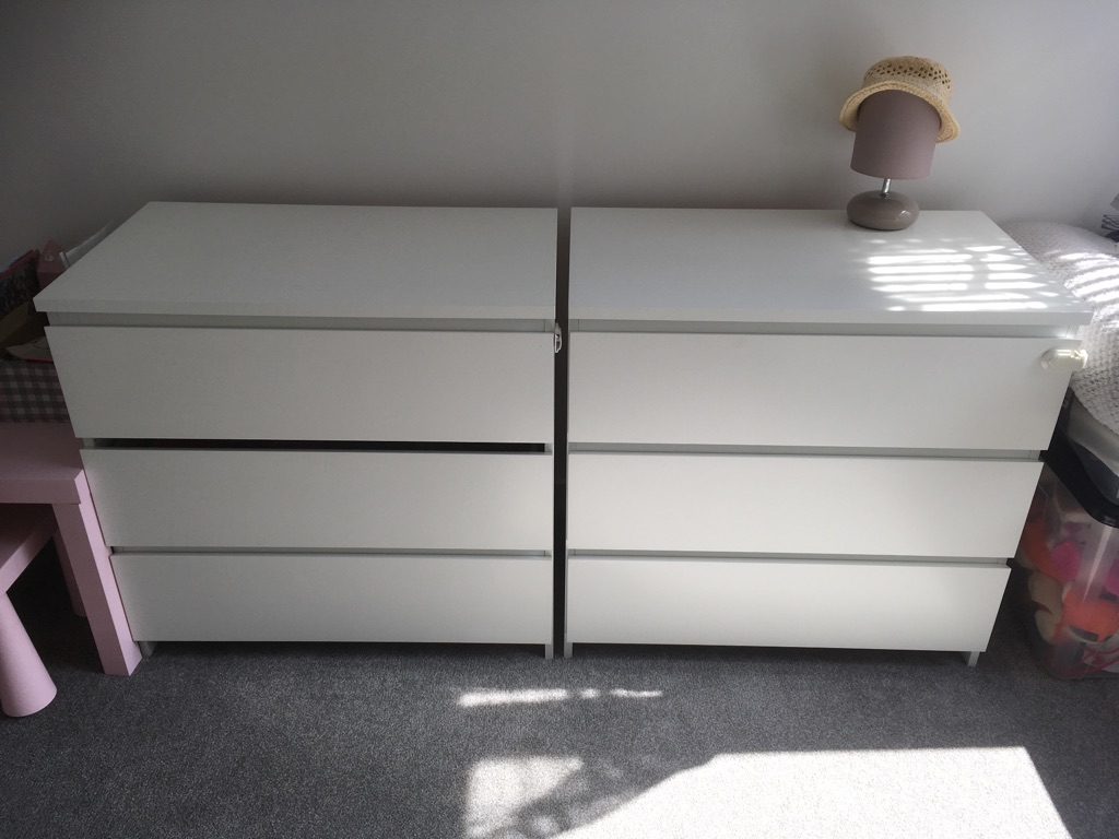 Ikea chest of drawers.