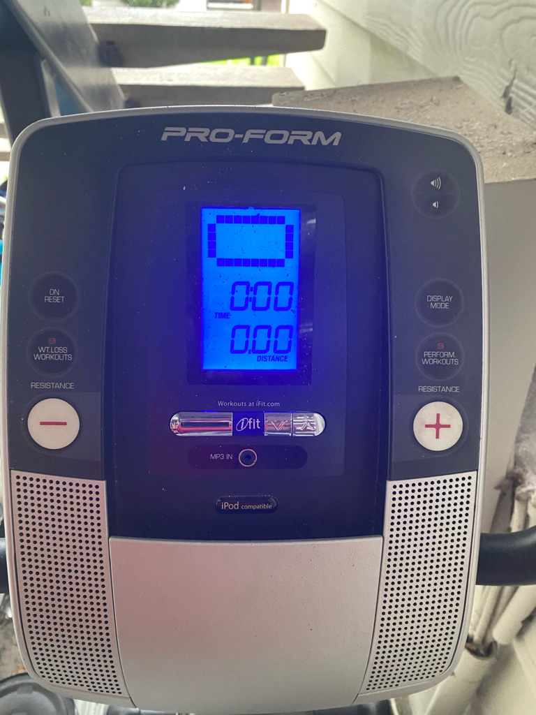 Pro-Form cycling trainer