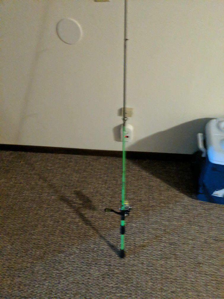 13 fishing code neon rod and lews reel