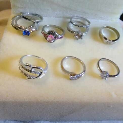 Lots of Beautiful Rings