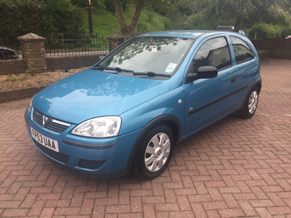 **SOLD** 2003 Vauxhall Corsa