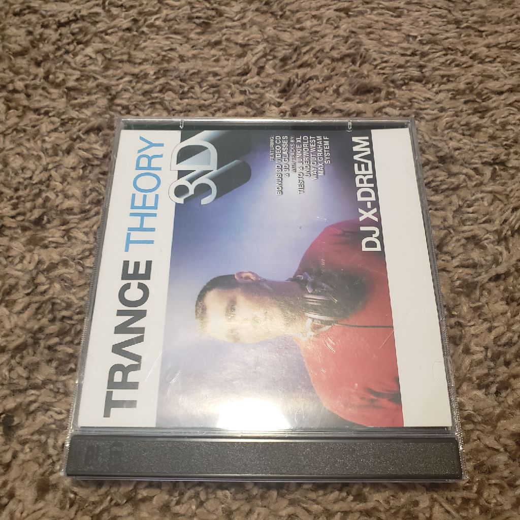 DJ X-Dream Trance Theory 3D Audio CD
