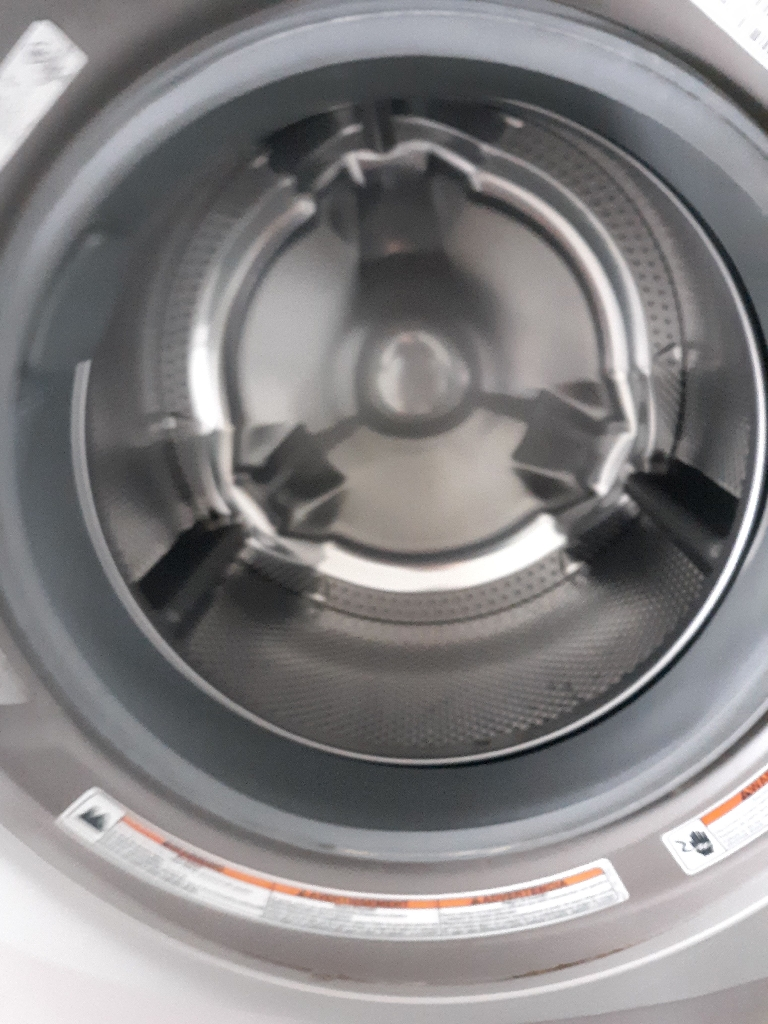 Kitchen Aid front loading washer [with pedestal]
