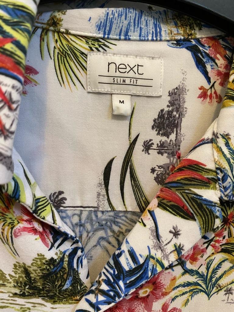 Floral mens shirt.